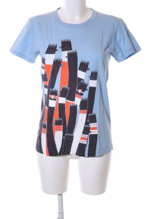 American Apparel T-shirt Stampa a tema stile casual