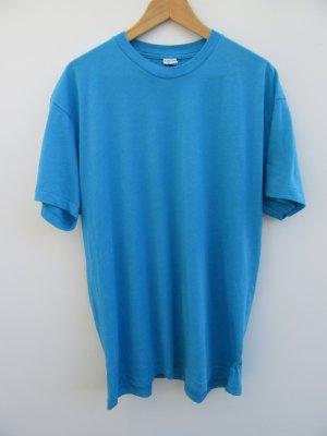American Apparel T-shirt blu neon