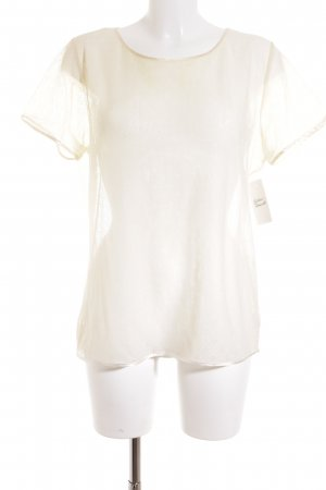 American Apparel T-Shirt creme florales Muster Romantik-Look