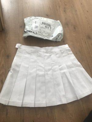 American apparel tennisrock weiß