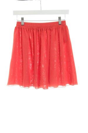 American Apparel Tule rok roodbruin casual uitstraling