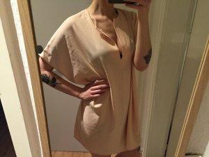 American Apparel Tunika Kleid nude peach Oversize Gr. M/L