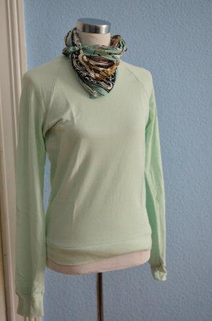 American Apparel Unisex Sweatshirt Rundhals Gr XS mint türkis