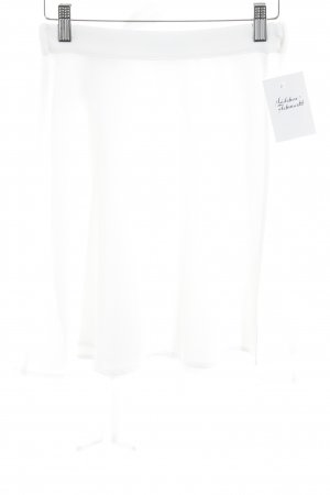 American Apparel Wraparound Skirt white casual look