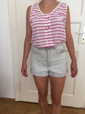 American Apparel High-Waist-Shorts multicolored