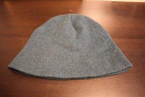 American Apparel Chapeau en tricot bleu pétrole