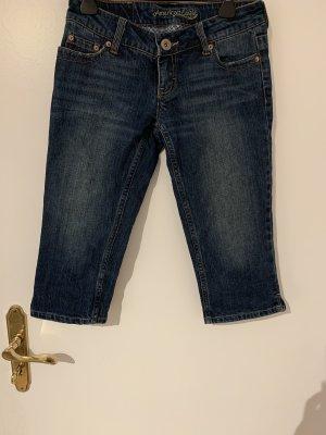 American Eagle Outfitters Jeans 7/8 bleu foncé