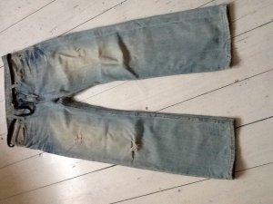 American Eagle Outfitters Jeans boyfriend bleu azur