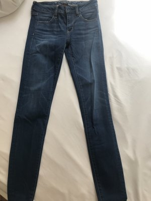 American Eagle Outfitters Jeans skinny bleu acier