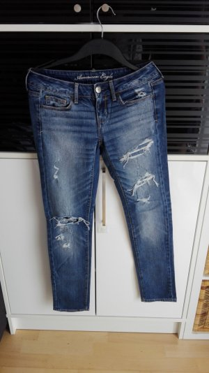 American Eagle Outfitters Jeans skinny blu