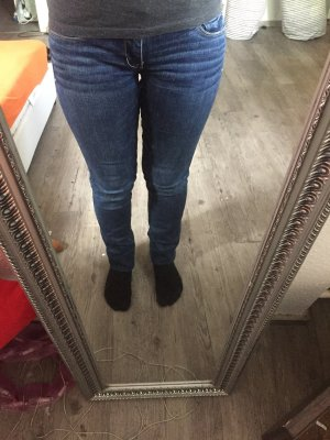 American Eagle Outfitters Stretch Jeans dark blue