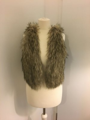 American eagle outfitters fake fur Weste Gr. S
