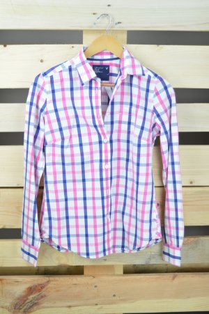 American Eagle Outfitters Long Sleeve Shirt pink-lilac cotton