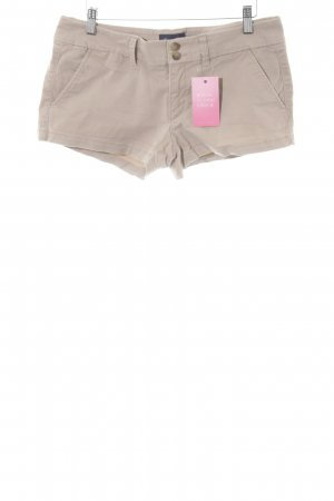 American Eagle Outfitters High-Waist-Shorts beige Casual-Look
