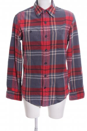 American Eagle Outfitters Lumberjack Shirt red-light grey check pattern