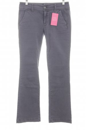 American Eagle Outfitters Hüftjeans hellgrau Casual-Look