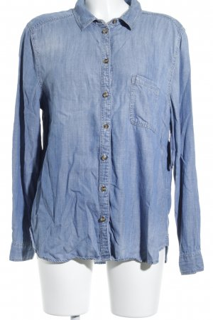 American Eagle Outfitters Jeanshemd himmelblau Jeans-Optik