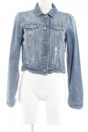 American Eagle Outfitters Spijkerjack blauw casual uitstraling