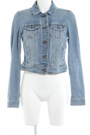 American Eagle Outfitters Jeansjacke blau Casual-Look