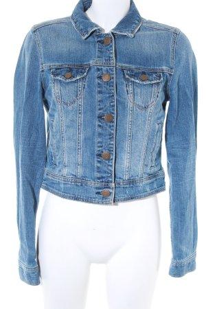 American Eagle Outfitters Veste en jean bleu style décontracté