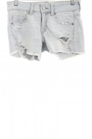 American Eagle Outfitters Denim Shorts light blue distressed style