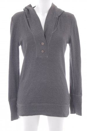 American Eagle Outfitters Sweatshirt met capuchon antraciet casual uitstraling