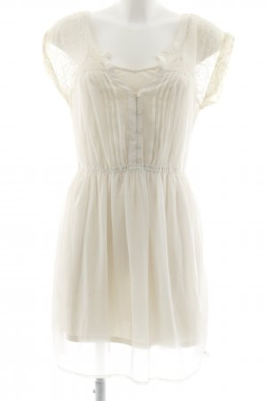 American Eagle Outfitters Minikleid creme Romantik-Look