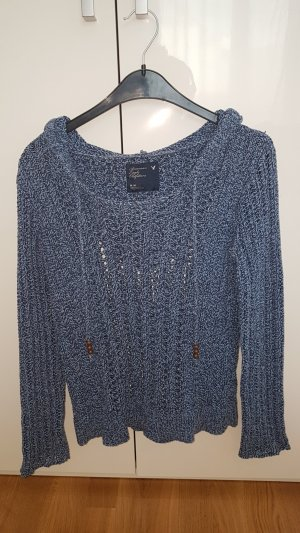 American Eagle Outfitters Crochet Sweater multicolored cotton