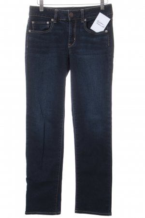 American Eagle Outfitters Drainpipe Trousers dark blue casual look