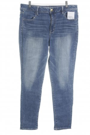 American Eagle Outfitters Röhrenjeans blau