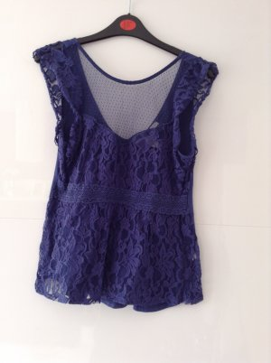 American Eagle Outfitters Top azul oscuro
