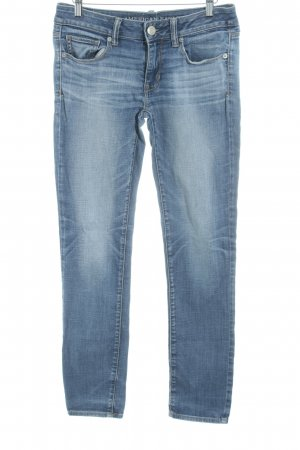 American Eagle Outfitters Skinny Jeans steel blue casual look