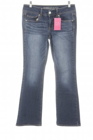 American Eagle Outfitters Straight-Leg Jeans blau Casual-Look