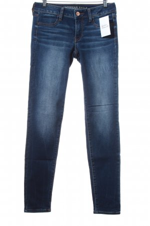 "American Eagle Outfitters Straight-Leg Jeans ""Super Stretch"" dunkelblau"