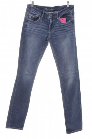 American Eagle Outfitters Stretch Jeans blau-stahlblau Casual-Look