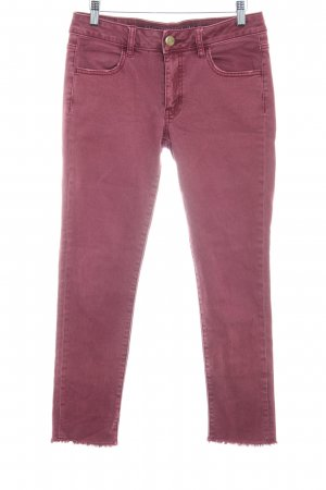 American Eagle Outfitters Stretch Jeans violett schlichter Stil