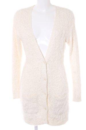 American Eagle Outfitters Giacca in maglia beige chiaro soffice