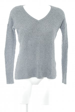 American Eagle Outfitters Strickpullover grau Casual-Look