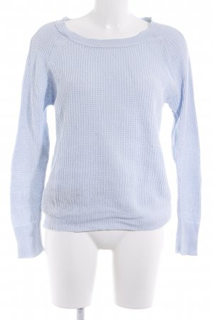 American Eagle Outfitters Strickpullover himmelblau Casual-Look