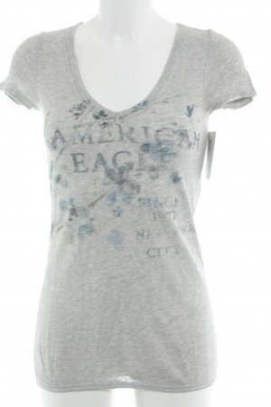American Eagle Outfitters T-Shirt light grey casual look