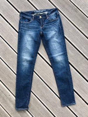 American Eagle Outfitters Pantalone a sigaretta multicolore