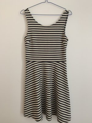 American Eagle Outfitters Beach Dress grey-natural white