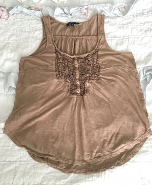 American Eagle Outfitters Tank Top beige-light brown