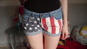 American Flag Hot pants von Review