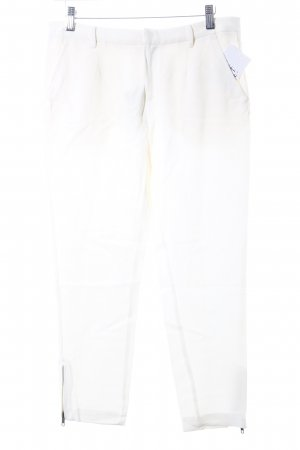 American Retro Pantalon en jersey crème style classique