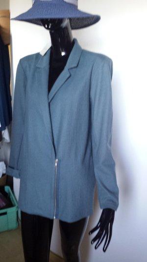 American Vintage, Blazer aus Wollstoff graublau Gr. M NEU,