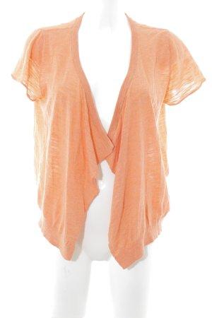 American Vintage Blusenjacke apricot meliert Vintage-Look