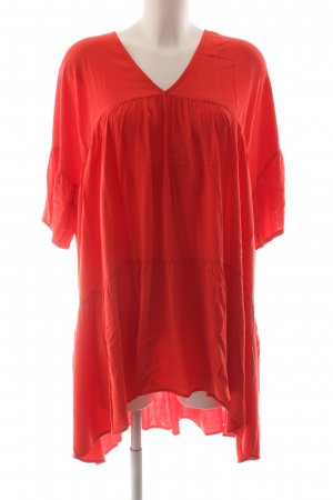 American Vintage Blusenkleid rot Casual-Look
