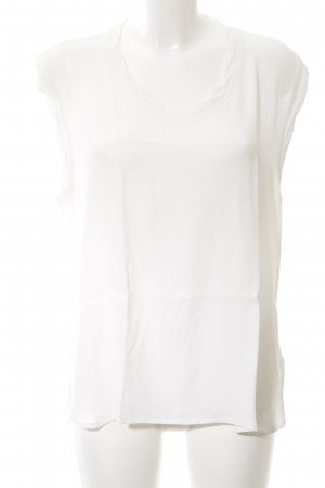 American Vintage Blouse Top natural white casual look