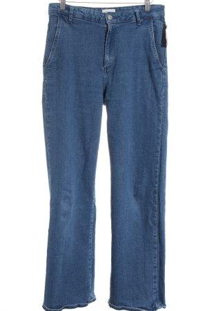 American Vintage Boot Cut Jeans dunkelblau Casual-Look